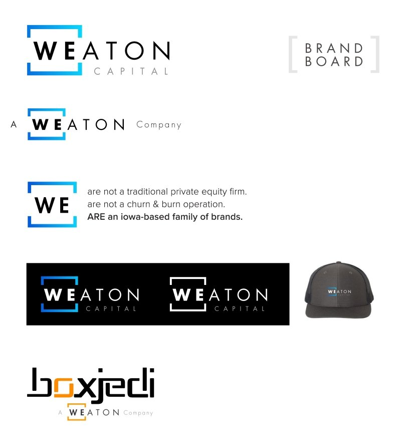 Weaton Brand Design Board