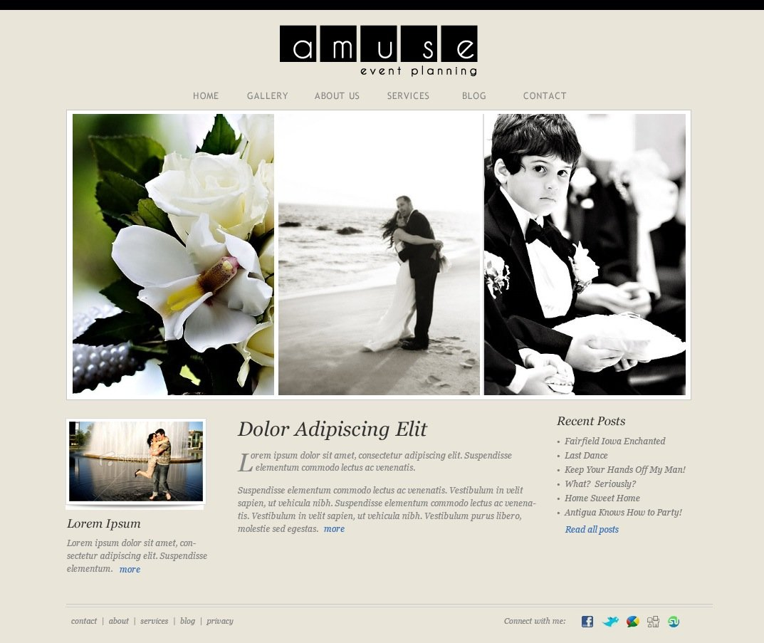 Event Planning: Event Planner Website Design