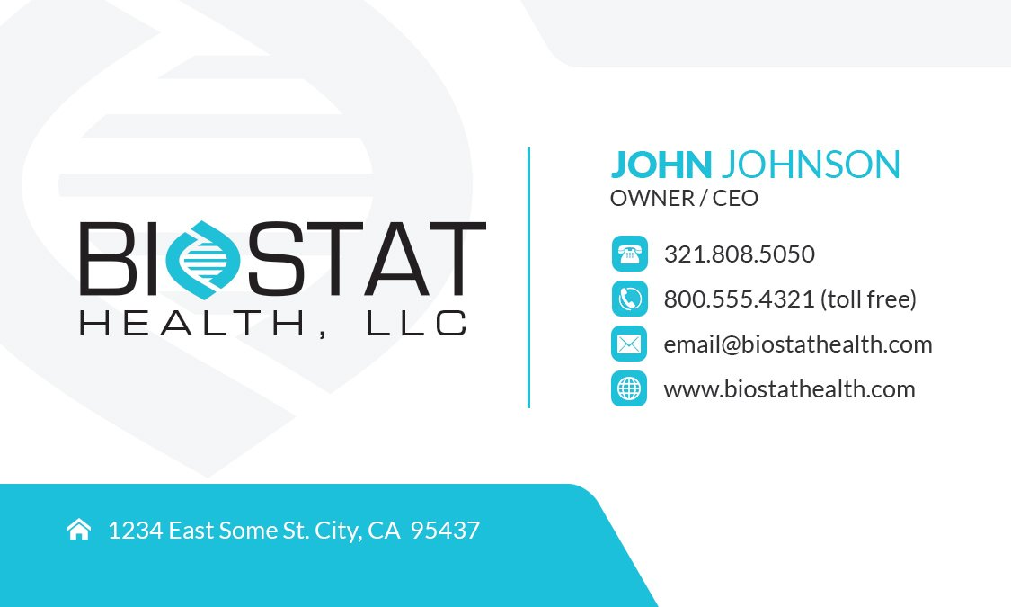BioStatHealth-Business-Card-Front-Generic - Kevin C. Riley ...