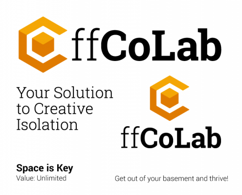 Colab logo and identity design