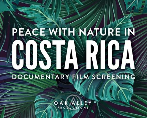 Costa Rica Film Poster Design