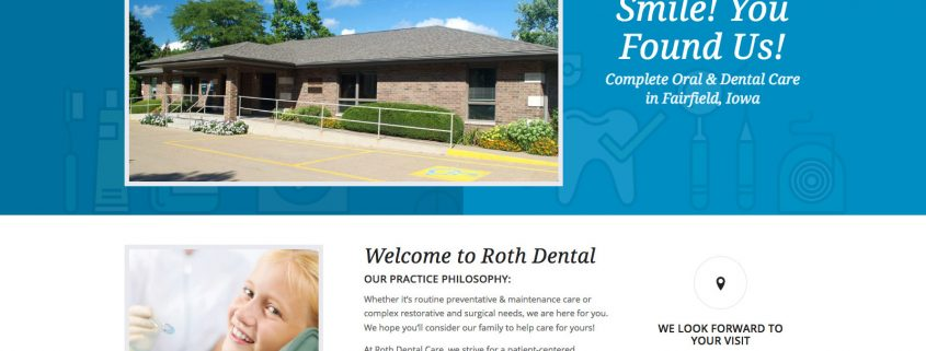 Dental Care Wordpress Website