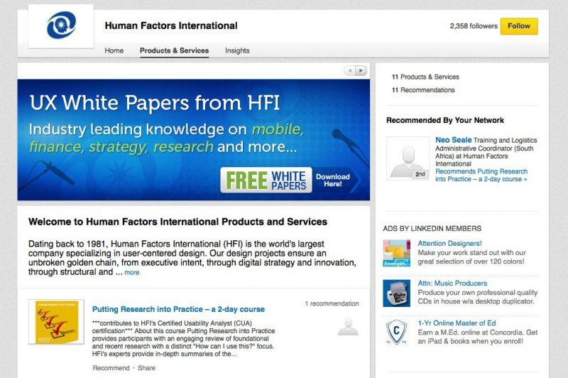 Human Factors Social Banner Design
