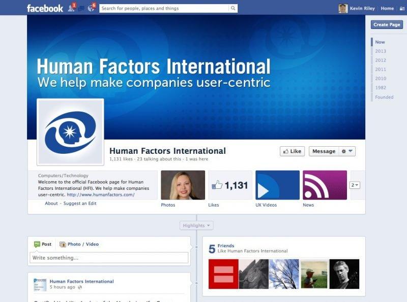 Facebook Page Profile Design