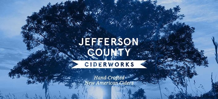 jefferson county ciderworks website design screenshot