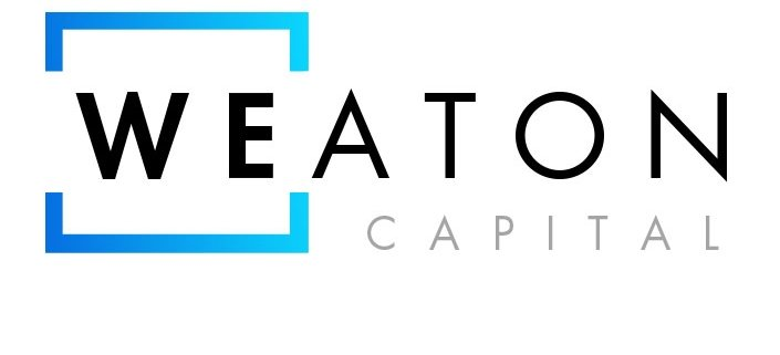 weaton capital logo design